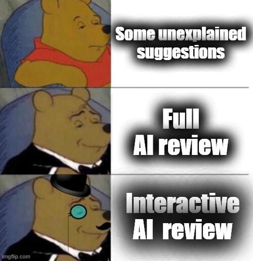 Interactive AI analysis meme
