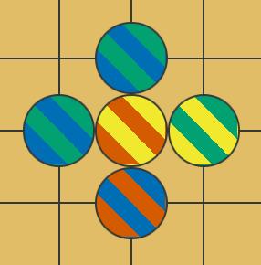 Fractional Multicolour Go